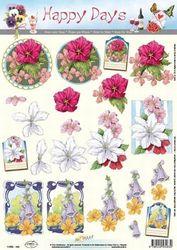 Doe Maar knipvel bloemen 11053-163 (Locatie: 0219)