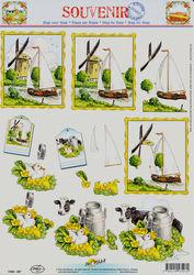 Doe Maar souvenir knipvel dieren 11053-507 (Locatie: 5641)