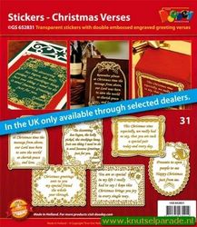 Doodey stickers set christmas verses GS 652831 (Locatie: 1RB5 )