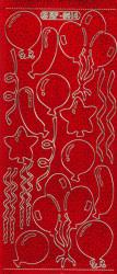Doodey stickervel rood holografisch XP6414 (Locatie: g311)