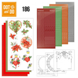 Dot and Do 186 Red Holly Berries DODO186