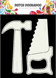 Dutch Doobadoo Card Art Tools 2 pcs. stencil A5 470.713.689 (Locatie:1126)