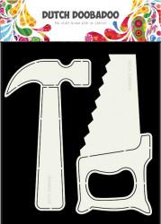 Dutch Doobadoo Card Art Tools 2 pcs. stencil A5 470.713.689 (Locatie:1126)