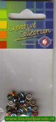 Eyelets metallic assortiment pastel 25 stuks nr. 20413/11 (Locatie: 5RC1 )