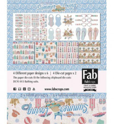 FabScraps Card Kit Summer Loving MC93001A (Locatie: 4230)