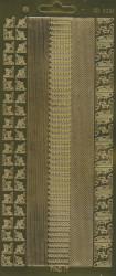 Find It stickervel glanzend goud CD3061 (Locatie: j555)