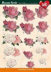 Hearty Crafts knipvel rozen 2 (Locatie: 4840)