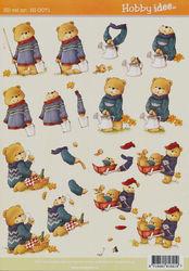 Hobby Idee knipvel beren HI-0071 (Locatie: 5825)