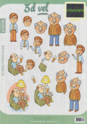 Hobby idee knipvel mannen HI0113 (Locatie: 2560)
