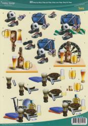 HobbyDesign knipvel mannen 73110 (Locatie: 2695)