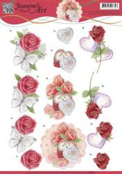Jeanine's Art knipvel huwelijk CD10981 (Locatie: 0508)
