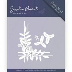 Jeanine's Art snij- en embosmal Sensitive Moments Lily Corner JAD10099 (Locatie: M126)