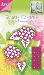 Joy Crafts cutting en embossing mal bloem opbouw 6002/0182 (Locatie: B323 )