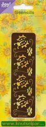 Joy! Crafts embos- en borduurstencil lieveheersbeestjes 6001/0061 (Locatie: J066 )