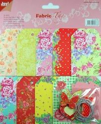 Joy Crafts fabric tags 2 6013 0782 (Locatie: 1RA3 )
