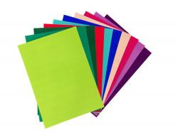 Joy! Fluweel papier zelfklevend 10 vel A4 intensieve kleuren 8011/0003 (Locatie: 4612)