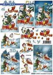 Le Suh knipvel sneeuwpoppen 777574 (Locatie: 5562)