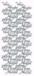 """Le Suh sticker zilver """"Voor Moeder"""" 690285 (Locatie: X104)"""