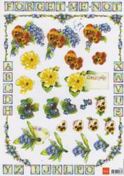 Marianne Design knipvel bloemen IT536 (Locatie: 2373)