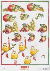 Marianne Design knipvel kerst IT474 (Locatie: 2717)