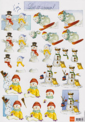 Marianne Design knipvel Let it snow IT 544 (Locatie: 2252)