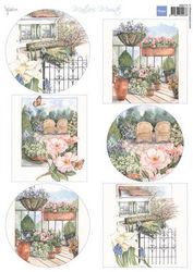Marianne Design knipvel Mattie's mooiste tuin MB0175 (Locatie: 6736)