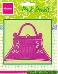 Marianne Design pink stencils PK 9006 (Locatie: D06 )