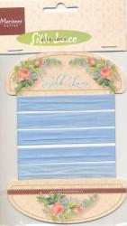 Marianne Design Silk Lace Blue JU0922 150 cm (Locatie: k3)