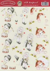 Marieke's Design knipvel kinderen 2408 (Locatie: 0343)