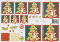 Marjoleine knipvel kerst 08 (Locatie: 2768)