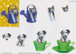 Nielsen Cards knipvel honden en katten KA007 (Locatie: 0523)