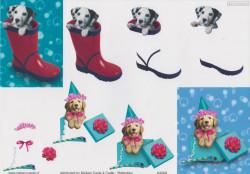 Nielsen Cards knipvel honden KA008 (Locatie: 2652)