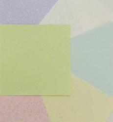 Origami papier, 18 vel, 6 kleuren, 150 x 150mm
