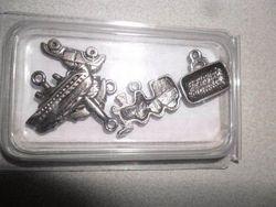 Rayher metalen hangertjes 'reizen' 1,5-2,5 cm / 6 stuks 7845648 (Locatie: K2)