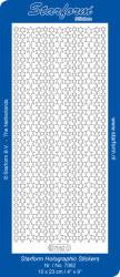 Starform sticker glitter zilver/goud 7062 (Locatie: HH116)