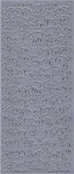 Starform sticker zilver slingers 8513 (Locatie: HH108)