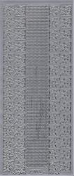 Starform stickervel zillver 1074 (Locatie: r031)