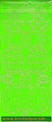 Stickervel pasen groen 121013 0051 (Locatie: I231 )