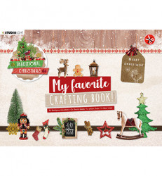 Studio Light A4 Crafting Book Traditional Christmas STANSBLOKSL96