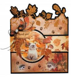 Studio Light stansblok 15 x 15 cm Wonderful Autumn EASYWA664