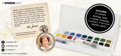 Studio Light Watercolor Aquarelset Jenine's Mindful 18 kleuren WCJMA01