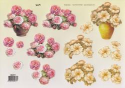 TBZ stansvel bloemen 580077 (Locatie: 2688)