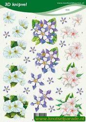 Voorbeeldkaarten knipvel bloemen 2219 (Locatie: 6027)
