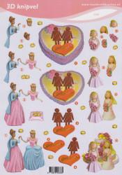 Voorbeeldkaarten knipvel huwelijk 2336 (Locatie: 2672)