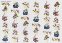 Wekabo knipvel bloemen nr. 697 (Locatie: 1442)