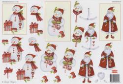 Wekabo knipvel kerstmis 794 (Locatie: 0217)