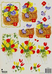 Wekon knipvel bloemen BM0082 (Locatie: 631)