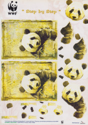 WWF knipvel panda's (Locatie: 4515)