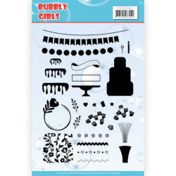 Yvonne Creations Clear Stamp Bubbly Girls YCCS10049 (Locatie: k128)