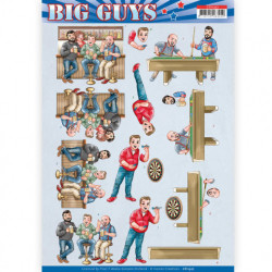 Yvonne Creations knipvel Big Guys CD11327 (Locatie: 2916)